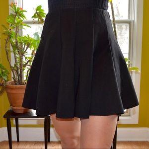 Top-shop Black High Wasted Skirt Large